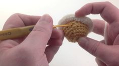 Solar System Crochet Pattern: Making Saturn's Rings, Working in Front Loops (left handed)