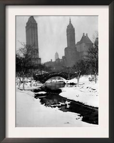 Central Park, New York City, 1945