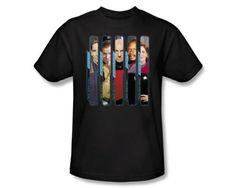 Star-Trek-TV-Series-The-Captains-Kirk-Sisko-Picard-Janeway-Tee-Shirt-S-3XL