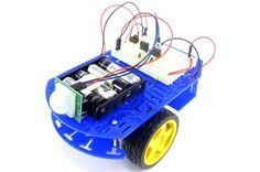 Build a Motion-Activated Guard Robot (BlueBot Project Science Kits, Science Fair Projects, Science Experiments, Robot Kits, Diy Robot, Stem Projects, Easy Projects, Project Ideas, Educational Robots