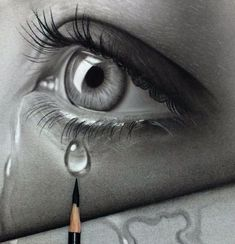 drawings sad 39 trendy Ideas for drawing sad eyes art 39 trendy Ideas for drawing sad eyes art Pencil Art Drawings, Art Drawings Sketches, Eye Drawings, Realistic Eye Drawing, Drawing Eyes, Crying Eye Drawing, Sad Eyes, Eye Art, Pencil Portrait