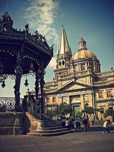 Downtown Guadalajara, Mexico.... beautiful place! My beautiful city!