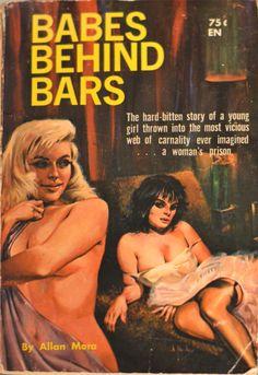 Babes Behind Bars | Peek Inside 22 Vintage Lesbian Pulp Novels