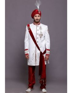 Indo - Western Sherwani:- AzioDesigns.com( A commercial initiative by Azio Design LLP) founded in the year 2011, evolved as the fastest growing designer men's clothing destination in Delhi backed by innovative thinker, creative & pass out from NIFD, Delhi. Within 6 months of it's start-up, Azio was successful in bagging premium clients from Noida, Gugraon , Delhi & Mumbai.