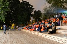 open air cinemas, Moscow