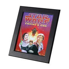 Star Wars Comics Framed Genuine Postcard Empires End Luke Leia Han Solo Frame -- Click image to review more details.