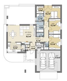 Lake House Plans, House Layout Plans, New House Plans, Dream House Plans, House Layouts, Home Building Design, Building Plans, Building A House, Circle House