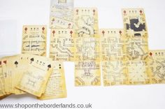 Shop on the Borderlands, now stocking the Inked Adventures Map & Dice Playing Cards https://www.shopontheborderlands.co.uk/product/map-dice-cards-combined-playing-cards-dungeon-maps-dice/