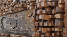 3 d falburkolatok - Falburkolatok Learn Woodworking, Woodworking Videos, Woodworking Projects, Cool Wood Projects, Reclaimed Wood Wall Art, Futuristic City, Loft Design, Wood Working For Beginners, Loft Style