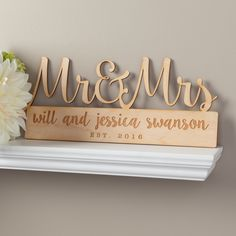 Mr Mrs Personalized Wood Plaque Redeem Your Groupon Personalized Wooden Plaques Home Decor Signswooden