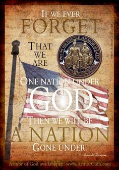 Do you believe America is favored, blessed, or lost? God bless America, land that I love. Armor of God Challenge Coin Pray For America, I Love America, God Bless America, America America, Independance Day, Armor Of God, In God We Trust, Ronald Reagan, First Nations