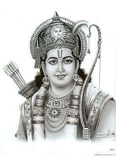 Lord Rama - Hindu Posters (Reprint on Paper - Unframed) Hanuman Images, Lord Krishna Images, Hanuman Photos, Sri Ram Image, Ram Sita Image, Shree Ram Images, Jay Shree Ram, Shri Ram Photo, Lord Sri Rama