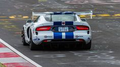 Dodge never got a Nurburgring lap time for the fifth-generation Viper ACR. This is the story of how a crowdfunded crew went about righting that wrong. 2010 Dodge Viper, Viper Acr, Dodge Srt, Viper 2017, Us Cars, Race Cars, Mopar Or No Car, Power Cars, American Muscle Cars
