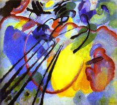 "Wassily Kandinsky, ""Black Arch,"" 1912 -- Musée National d'Art Moderne, Centre Georges Pompidou, Paris"