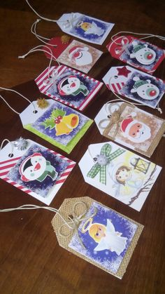 Christmas tags for  gifts