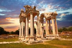 Picture of Tetrapylon Gate, Aphrodisias, Turkey. 10 | Photos Gallery