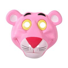 Pink Panther Mask found on Polyvore featuring masks, fillers, accessories, extra and other