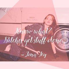 Damn right. #tinafey #lindenca #instaquote #quoteoftheday