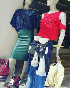 Nuova Vetrina - Nuovi Outfit 😗 FORZA !!! Si riparte con un' altra settimana di EXTRA-SALDI TUTTO AL MENO 60 %%% E OLTRE !!! #ULTIMIGIORNI  #ULTIMEOCCASIONI #ONLYEKHÒMODA #VIASPETTIAMO ❤❤❤