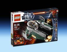 9494 Anakin's Jedi Interceptor (2012) - 300 pieces, 6 mini-figures.