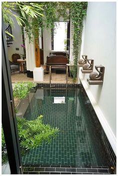 52 Best Swimming Pool Ideas For Your Backyard Design > Fieltro.Net pool backyard best swimming pool ideas for your backyard design 38 > Fieltro. Small Swimming Pools, Small Backyard Pools, Small Pools, Swimming Pool Designs, Backyard Ideas, Backyard Patio, Backyard Designs, Patio Decks, Backyard Landscaping