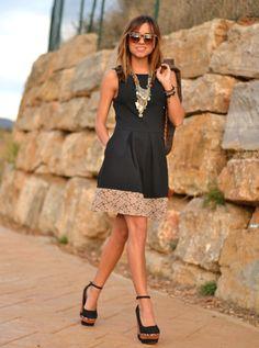 vestido Isabela con encaje