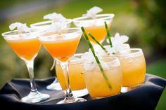"Aloha Bars Maui ""Tropical Fantasy"" Mango Nectar, Pineapple Juice and Orange Juice shaken with Coconut Rum."