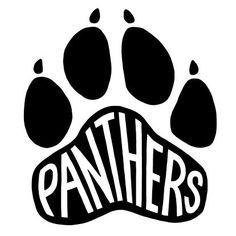 panther paw logos google search pinteres rh pinterest com Baby Panther Clip Art free panther clipart images