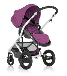 Britax Affinity Stroller in Cool Berry #baby #radiantorchid #trendy