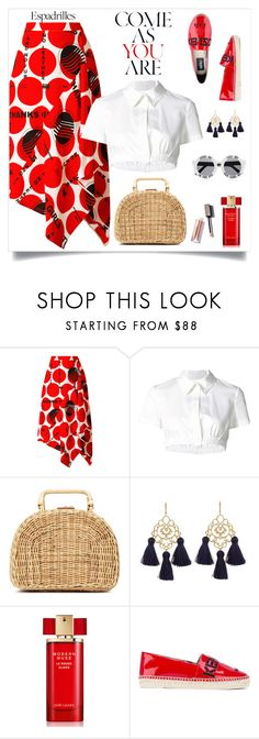 """""""Come as you are"""" by tato-eleni ❤ liked on Polyvore featuring STELLA McCARTNEY, Monse, Kayu, Marte Frisnes, Estée Lauder, House of Holland and Kenzo"""