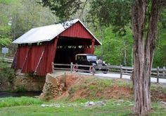 Campbell's Covered Bridge...Landrum, SC