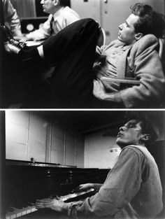Photographs of Glenn Gould in 1956, by Gordon Parks for Life