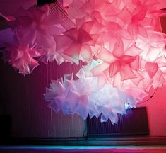 Robert Janson - Plastic Bag installation