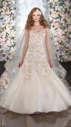 Martina Liana Spring 2014 Bridal Gowns - StrictlyWeddings.com Blog