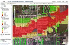 The Big Picture: The Role of Mapping in Assessing Disaster Damage - - FEMA Oklahoma Tornadoes Situation Map