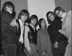 Jefferson Airplane Takes Off: From left: Paul Kantner, Skip Spence, Marty Balin, Signe Toly Anderson, Jorma Kaukonen, and Jack Casady