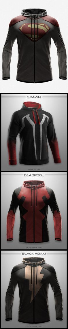 The coolest hoodies you won't own…@Ryan Poehler Shut up and take my money!
