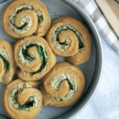 Spinach and Goat Cheese Rolls