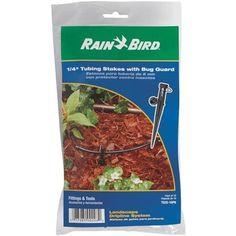 Rain Bird Corp. Consumer 10-Pk 1/4 Tubing Stakes TS25/10PS Unit: PKG