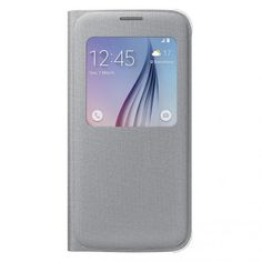 Funda Original Samsung Galaxy S6 Tela S View Plata 39,99 €