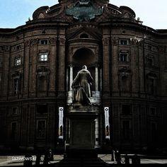 #Torino raccontata dai cittadini per #inTO  Foto di lazivowski Palazzo Carignano è un edificio storico che rappresenta uno dei più pregevoli esempi di architettura barocca. Ospita attualmente il Museo nazionale del Risorgimento italiano. #palazzocarignano