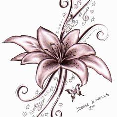 withered flowers tattoo - Google Search
