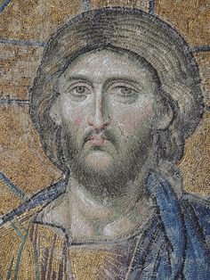 Christ Pantocrator mosaic from Hagia Sophia 2240 x 3109 pixels MB - Mosaic - Wikipedia, the free encyclopedia Hagia Sophia, Christ Pantocrator, Facts For Kids, Orthodox Icons, Christian Art, Religious Art, Ancient Art, Ancient Greek, Mosaic Art