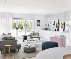 This renovated home is a lesson in perfecting Scandi style Scandi Home, Scandi Style, Scandi Chic, Living Room Designs, Living Room Decor, Bedroom Decor, Bungalow, Scandinavian Living, Scandinavian Interiors