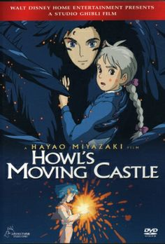 Howl's Moving Castle (DVD) Love this movie!!