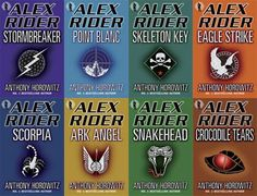 The Alex Rider Series. One of my favorite teen series