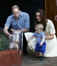 Bilby George wanted to kiss the Prince.