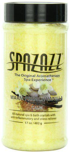 Spa and Bath Crystals, French Vanilla