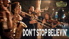 Don't Stop Believin' - Journey (ONE TAKE Vintage Postmodern Jukebox Cover)
