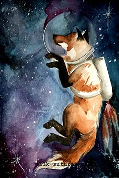Another Space Fox!  Edee would love this!